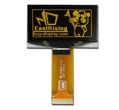 Serial I2C 1.5 inch OLED Module Display 128x64,SSD1309,Yellow on Black ER-OLED015-2Y